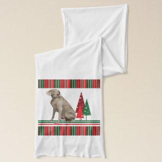 Weimaraner julScarf Halsduk