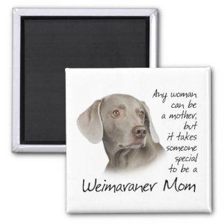 Weimaraner mammamagnet magnet