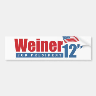 Weiner 2012 flytta sig mycket långsamt - bildekal