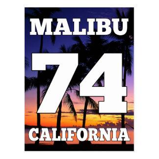 Wellcoda Malibu Kalifornien USA strandliv Vykort