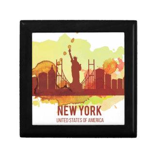 Wellcoda New York City NYC USA frihet Presentskrin