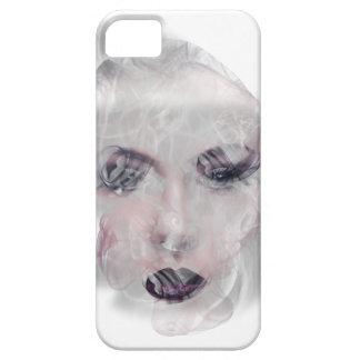 Wellcoda röker nätt flickaansikte för sminket iPhone 5 cover