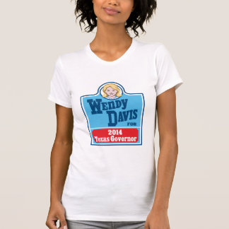 Wendy Davis för den Texas regulatorn 2014 Tee Shirts