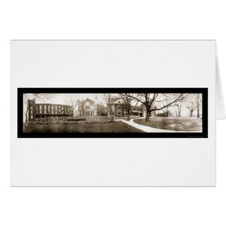 Wentworth Lexington MO foto 1909 Hälsningskort