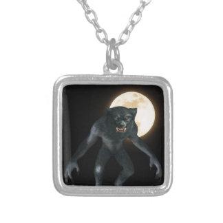 Werewolf Silverpläterat Halsband