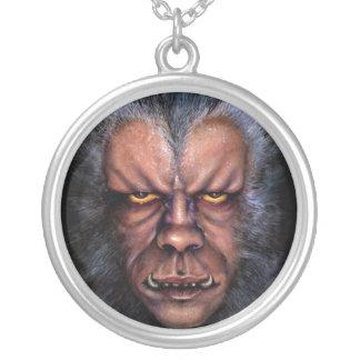 Werewolfförbannelse Silverpläterat Halsband