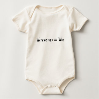 Werewolves = seger body för baby