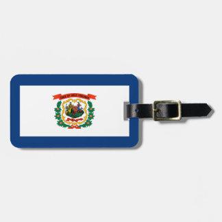 West Virginia statlig flaggadesign Bagagebricka