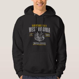 West Virginia Tröja Med Luva