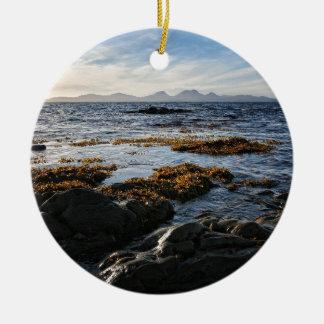 Westcoast av Skottland, Isle av Jura Julgransprydnad Keramik