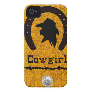 "Western blackberry fodral ""för CowgirlSilhouette"""