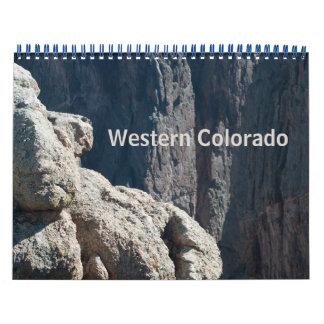 Western Colorado fotokalender Kalender