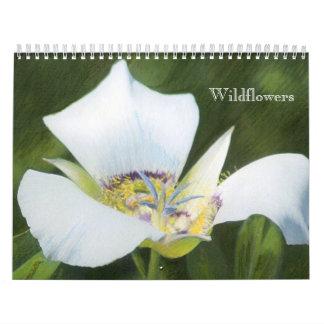 Western kalender för CO-vildblommateckningar