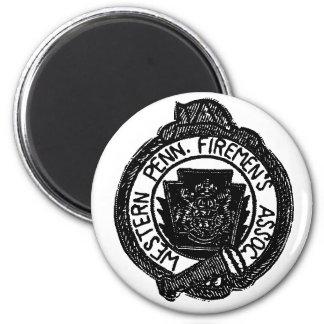 Western PA-brandman magnet för anslutning