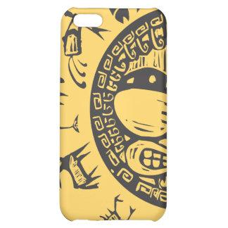 Western primitiv Zodiac #4 iPhone 5C Mobil Skal