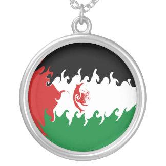 Western Sahara Gnarly flagga Hängsmycken