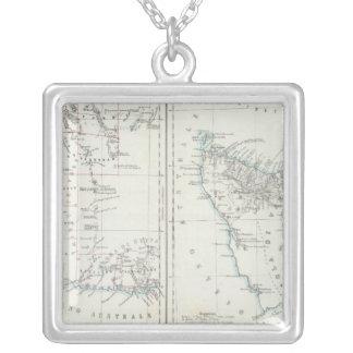 Westerna Australien och Tasmania Silverpläterat Halsband