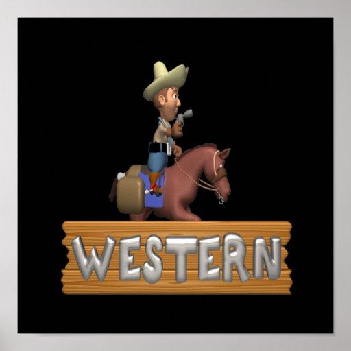 Westernt Affischer