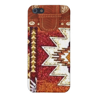 """Westernt IPhone 4 """"för indian"""" fodral iPhone 5 Cover"""