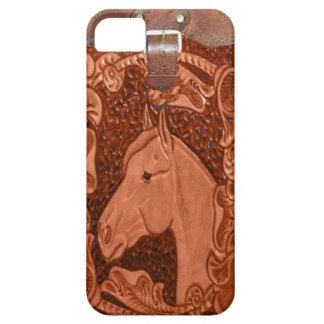 Westernt IPhone 5 för häst fodral iPhone 5 Fodraler