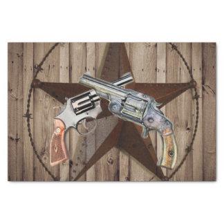 westernt lantligt gammalt westernt dubbelvapen