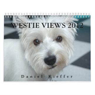 WESTIE BESKÅDAR kalender 2012