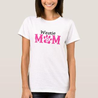 Westie mammautslagsplats tee shirt