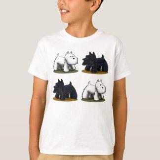 Westie Scottie, Scottie, Westie Tee Shirt