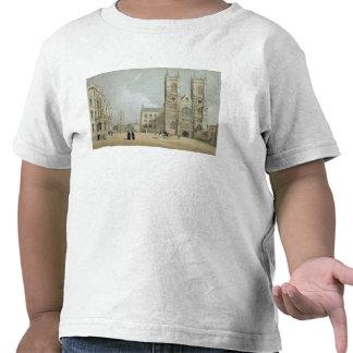 Westminster Abbey och sjukhus, från 'London som de Tshirts
