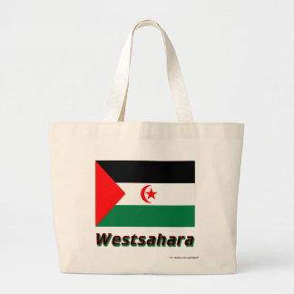 Westsahara Flagge mit Namen Tygkassar