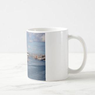 Weymouth hamn kaffemugg