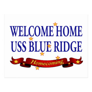 WH USS Blue Ridge 2 Vykort