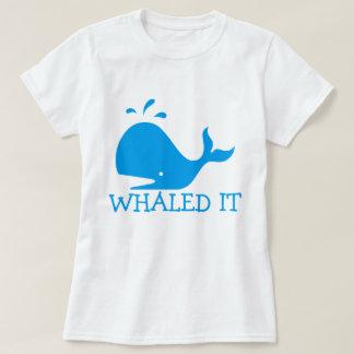 Whaled det tshirts