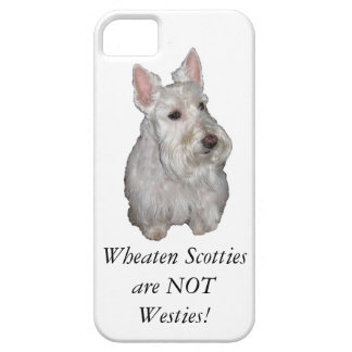 Wheaten Scotties är INTE Westies! iPhone 5 Skydd