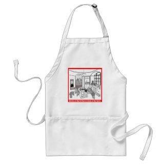 """Wheaten Terrier: """"Satkäringar i kök """", Förkläde"""
