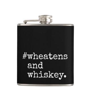 Wheatens och Whiskey Fickplunta