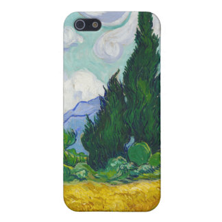 Wheatfield med Cypresses, Vincent Van Gogh iPhone 5 Skydd