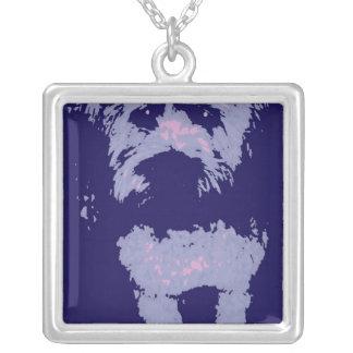 Wheaton Terrier Silverpläterat Halsband