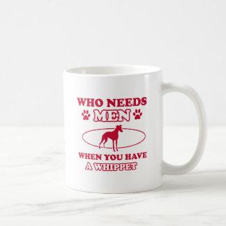 Whippet hund avelndesigner kaffe kopp