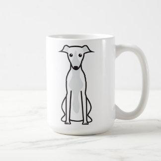 Whippet hundtecknad kaffe kopp