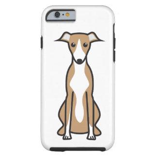 Whippet hundtecknad tough iPhone 6 skal