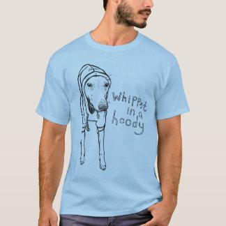 Whippet i en Hoody T-shirts