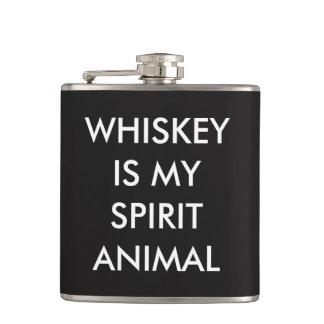 whiskey är mitt andedjur fickplunta