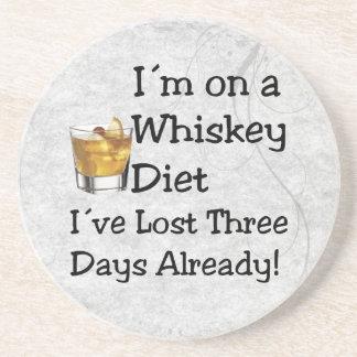 Whiskey bantar underlägg sandsten