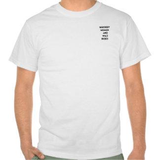 Whiskeykvinnor och vildrittskjorta tshirts