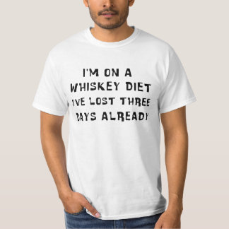 Whisky bantar tee shirts