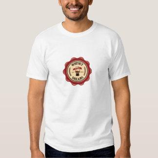 Whisky drömm T-tröja med slogan T-shirts