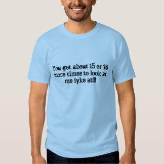 Whisky vridna Lyke på skjortan Tshirts