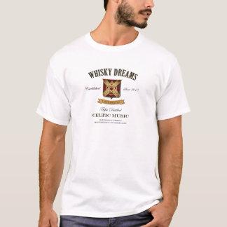 """Whiskydröm logotyp för etikett"""" t shirt"""