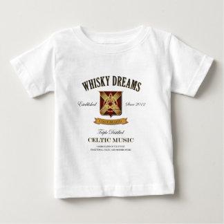 """Whiskydröm logotyp för etikett"""" t shirts"""